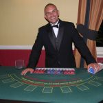 blackjack wedding hire, croupier hire for weddings
