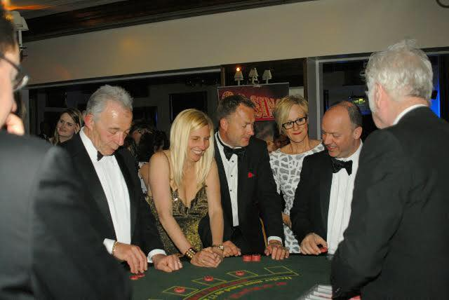 Berkshire Vision Charity fundraiser Blackjack